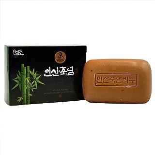 Insan 9 x roasted Bamboo Salt Soap K Beauty Soap, 100% Natural/Antioxidant