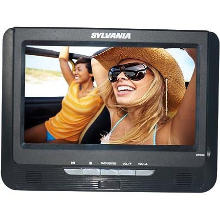 Sylvania SDVD9957 - Reproductor de DVD portátil con visualización Dual
