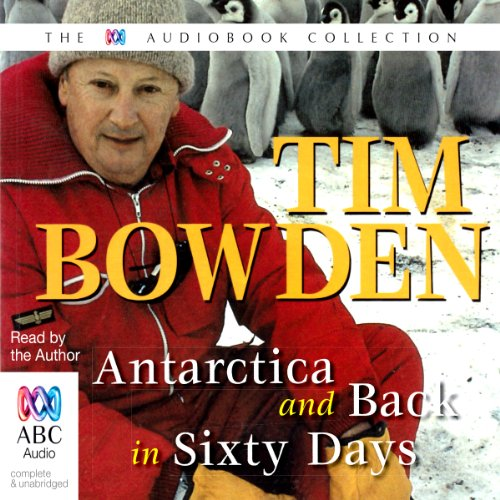 Antarctica & Back in 60 Days audiobook cover art