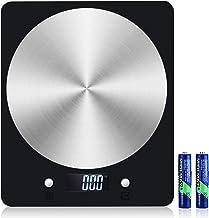 Diyife Balance de Cuisine 5kg/1g, Balance de Cuisson Électronique avec Affichage LCD, Plateforme en acier Inoxydable, Bala...