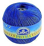 DMC Petra Ovillo, 100% algodón, Azul, tamaño 5