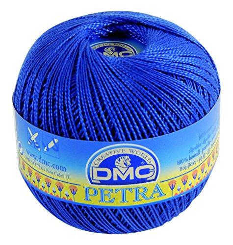 DMC 993A-5-05797 Häkelgarn, 100% Baumwolle, 05797 Blau, 9x9x8 cm