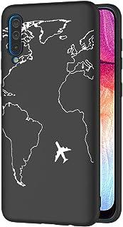 ZhuoFan OnePlus 8 Case, Phone Case Silicone Black with Pattern Ultra Slim Shockproof Soft Gel TPU Back Cover Bumper Skin f...