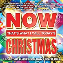 Now That's What I Call Today's Christmas! by Now Today's Christmas, Justin Bieber, Train, Coldplay, Norah Jones, Lady Gaga, G (2012) Audio CD
