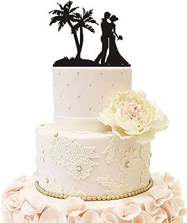 beach grooms cake