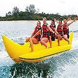 XUANX Bote Banana Inflable De Agua Surf Balsa Snow Surf 6 Personas Kayak Esquí Surf Lago Mar Paraíso,B