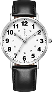 Plaris Nurse Watches for Medical Professionals,Nurses,Doctors,Students with Easy to Read Dial, Military Time, Second Hand and More Colors to Match Your Scrubs