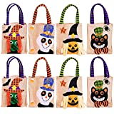 HHU Bolsa de Dulces de Halloween de 8 Piezas, Bolsas de Regalo de Dibujos...