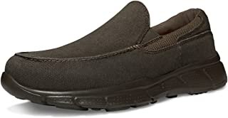 TSLA Men's Loafers & Slip-On Shoes, Lightweight Breathable Mesh Walking Shoes, Comfortable Casual Work Sneakers