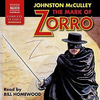 The Mark of Zorro audiobook cover art