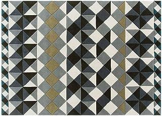 Gan Rectangular Carpets, 200 * 300 CM, Multi Color - Hand Tufted