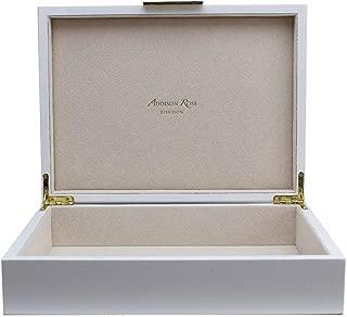 white lacquer box