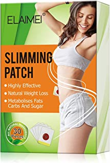Slimming Sticker, Weight Loss Sticker, Slimming Tightening Sticker for Shaping Waist, Abdomen and Buttocks.(30Pcs)