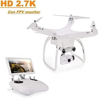 UPair One Plus Cuadric/óptero Drone con 2.7K C/ámara HD de Alta definici/ón WiFi RTF FPV RC Helic/óptero con Retorno Autom/ático Modo Headless