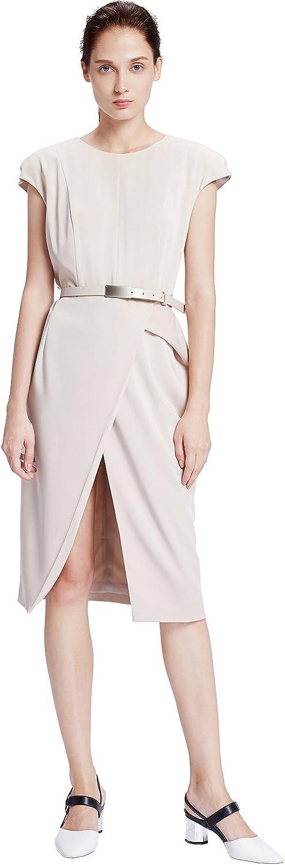 My Bun 2017 Summer Slim Fit Womens One Step Dresses Plus Size Short Sleeve Career OL Vestidos