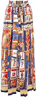 Etro Luxury Fashion Donna 1416544510200 Azzurro Altri Materiali Gonna | Ss21