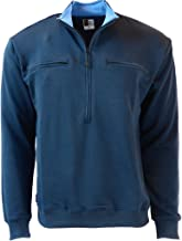 Men's Easy Port Access Chemo Pullover in French Tarry - Best Gift for Cancer Patients