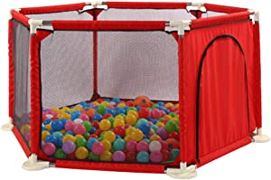 Relaxbx Children S Fence  Baby Play Fence  Portable Home Indoor Child Safety Activity Center Fence