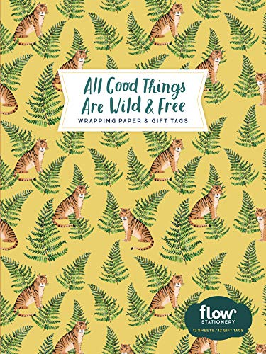 All Good Things Are Wild and Free - Wrapping Paper and Gift Tags