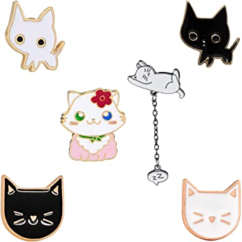 hat bag pin multiple choices Cute Cat Brooch