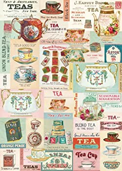 Cavallini Decorative Paper - Vintage Tea 20 x28  Sheet