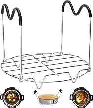 Steamer Rack Trivet with Heat Resistant Handles Compatible with Instant Pot Accessories 6 Qt 8 Quart, Pressure Cooker Triv...