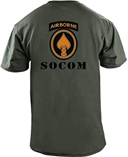 USAMM Army SOCOM Full Color Veteran T-Shirt