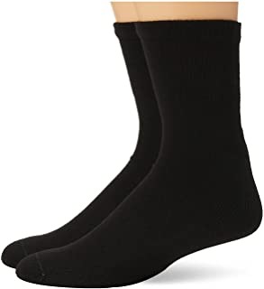 Dr. Scholl's Men's 4 Pack Big and Tall Diabetes and Circulatory Quarter Socks Casual, Black, X-Large(Shoe 11-15 Size: 13-15)