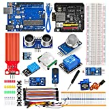OSOYOO WiFi Internet of Things Learning Kit for Arduino UNO  Include ESP8266 WiFi Shiled  Remote Controlled App Smart IOT Mechanical DIY Coding for Kids Teens Adults Programming Learning How to Code