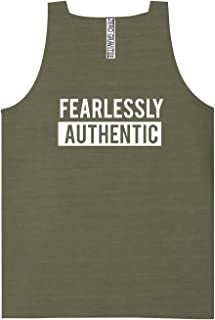 Fearlessly Authentic Adult Pigment Dye Tank Top