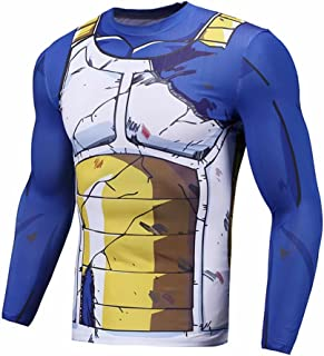 Anime Long Sleeve Compression Shirt for Men