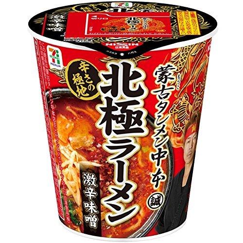 日清食品 蒙古タンメン中本 北極 111g×6個