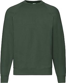 Fruit of the Loom Raglan Sweatshirt Mens