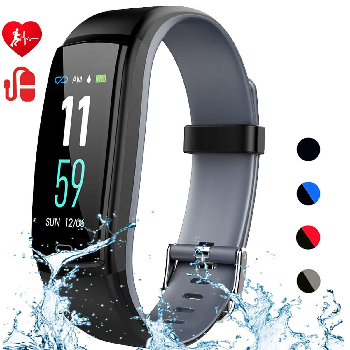 Mgaolo Activity Waterproof Wristband Pedometer