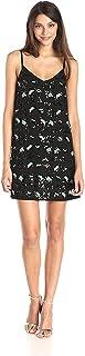 French Connection Women's Sequin Leopard Slip Dress