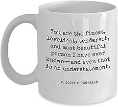 F Scott Fitzgerald quote mug!