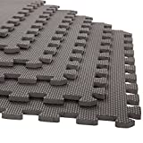 Foam Mat Floor Tiles, Interlocking EVA Foam Padding by Stalwart – Soft Flooring for Exercising,...