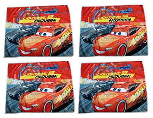 4 manoplas Disney Pixar Cars 40 x 31 cm Rayo McQueen