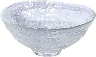 アデリア 津軽びいどろ 耐熱ガラス 抹茶椀 クリア 最大径約16cm×高さ7cm レンジ対応 日本製 F49104