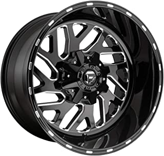FUEL Triton NBL-Gloss BLK MIL Wheel with Painted (22 x 12. inches /8 x 170 mm, -43 mm Offset)