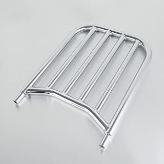 XMT-MOTO Chrome Backrest Sissy Bar Luggage Rack For Indian chief classic/vintage 2014-2018,chieftain 2014-2018,chieftain/chief dark horse 2016-2018,springfield 2016-2018,etc.
