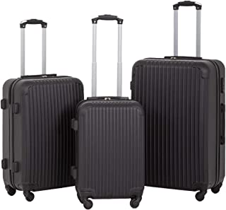 Luggage Sets 3 Piece Suitcase Spinner Travel Carry Eco-friendly with Password Lock Lightweight Durable