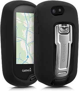 kwmobile 対応: Garmin Oregon 700 / 750t / 600 / 650 ケース - ナビゲーション シリコン カバー - 保護ケース 黒色