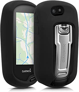 kwmobile Garmin Oregon 700 / 750t / 600 / 650 用 ケース - ナビゲーション シリコン カバー - 保護ケース 黒色