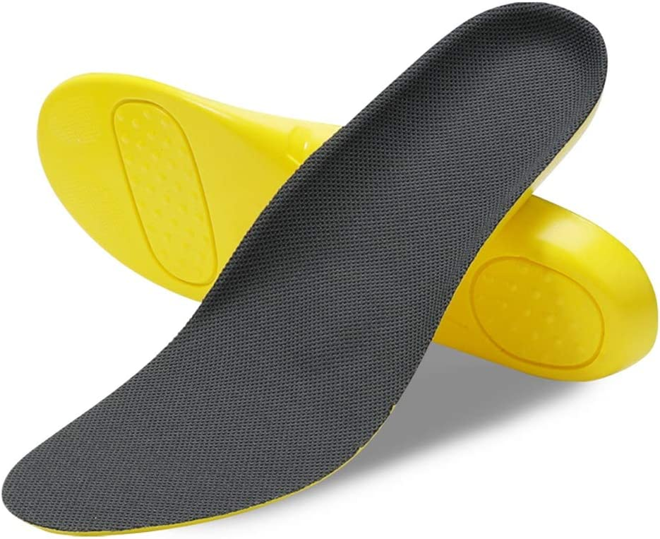 SLATIOM 70% OFF Trust Outlet PU Insoles Soft for Running Sho Heel Walking Foot Relief