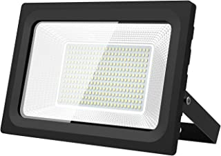 KIWEN LED投光器 フラッドライト 改良版 LEDライト 50W薄型投光器 屋外照明 看板灯 プラグ付き 1.8コード付き 昼光色 長寿命 取説付き 13ヶ月間品質保証