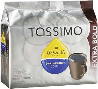 Gevalia Italian Dark Roast Coffee T-Discs for Tassimo Brewing Systems (12 T-Discs)