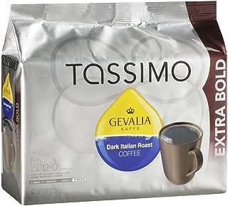 Gevalia Dark Italian Roast Tassimo T-Discs , Caffeinated, 12 ct - 5.85 oz Package