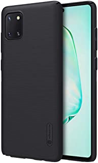 Nillkin Samsung Galaxy Note 10 Lite Case Frosted Shield PC Hard Back Cover for Samsung Note 10 Lite Phone (Black)