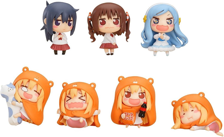 muy popular Himouto  Umaru-chan Minifiguras Minifiguras Minifiguras Surtido 4 cm (8)  gran venta